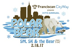 2017 Polar Bear Run logo