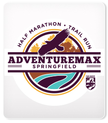2018 AdventureMax Springfield Half and 10K logo