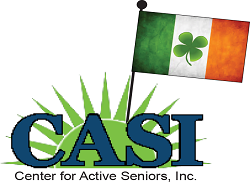 CASI's 37th Annual St. Patrick's Day Race logo