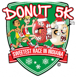 Donut 5K Holiday Run/Walk - 12th Annual logo