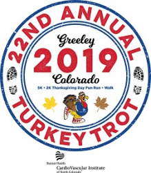 NCMC Turkey Trot 2018 Volunteer logo