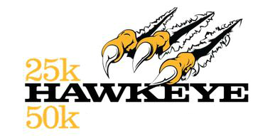 Hawkeye 50K & 25K Volunteer logo