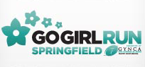 2019 Go Girl Run Springfield logo