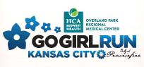 2019 Go Girl Run Kansas City logo