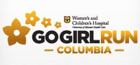 2019 MU Women's and Children's Hospital Go Girl Run Half Marathon and 5K logo