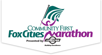 Community First Fox Cities Marathon - Volunteer Registration 2019 logo