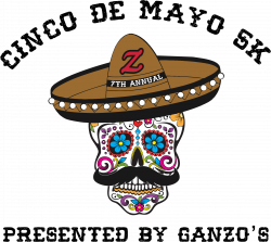 Ganzo's Cinco De Mayo 5K Volunteer 2020 logo