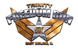 Freedom Run 5K - East Moline, IL logo