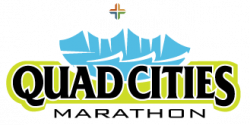 2021 Quad Cities Marathon Volunteer logo