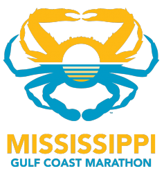 Mississippi Gulf Coast Marathon  Soak Up The Run - A Coastal Running Fest logo